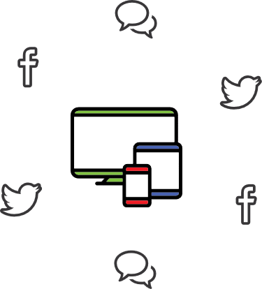 social media icon1 - Facebook Advertising