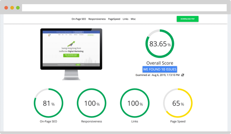 preview - Free SEO Audit Tool
